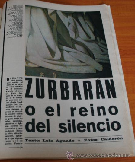 Coleccionismo de Revista Gaceta Ilustrada: GACETA ILUSTRADA 436 1965, JUICIO AUSCHWIZ, DACHAU, ZURBARAN, INTER DE MILAN, SOFIA LOREN - Foto 7 - 37795762
