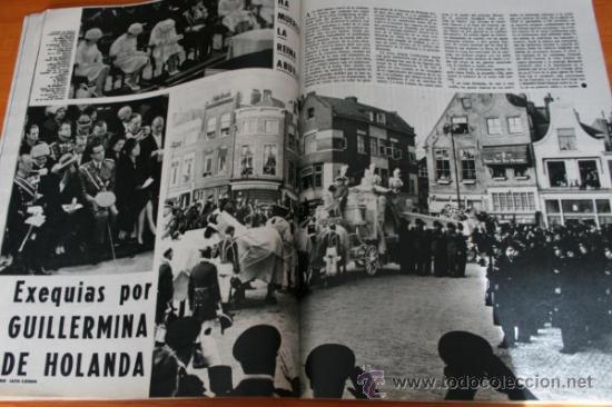 Coleccionismo de Revista Gaceta Ilustrada: GACETA ILUSTRADA 323 1962, MARINER II, LIZ TAILOR, TORERO LUIS MIGUEL, FUNERAL GUILLERMINA D HOLANDA - Foto 6 - 37798470