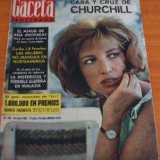 Coleccionismo de Revista Gaceta Ilustrada: GACETA ILUSTRADA 397 1964, MICHAEL Y GERALDINE CHAPLIN, EL TAUD DE ANA MOWBRAY, MARIA CUADRA. Lote 37795613