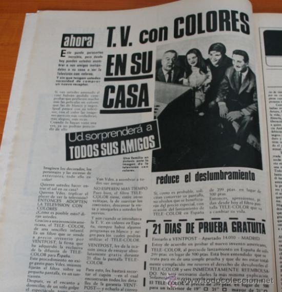 Coleccionismo de Revista Gaceta Ilustrada: GACETA ILUSTRADA 543 1967, LOS ESPAÑOLES EN PARO EN ALEMANIA, CIA, PETER SELLERS - Foto 7 - 37820954