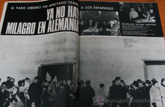 Coleccionismo de Revista Gaceta Ilustrada: GACETA ILUSTRADA 543 1967, LOS ESPAÑOLES EN PARO EN ALEMANIA, CIA, PETER SELLERS - Foto 2 - 37820954