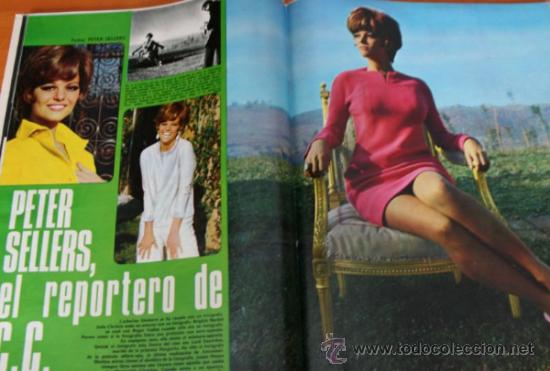 Coleccionismo de Revista Gaceta Ilustrada: GACETA ILUSTRADA 543 1967, LOS ESPAÑOLES EN PARO EN ALEMANIA, CIA, PETER SELLERS - Foto 5 - 37820954