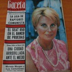 Coleccionismo de Revista Gaceta Ilustrada: GACETA ILUSTRADA 468 1965, SEAT 850, TALIDOMIDA LOS 4000 NIÑOS DE CONTERGAN, ASTORGA, GUERRA FRIA . Lote 37825697