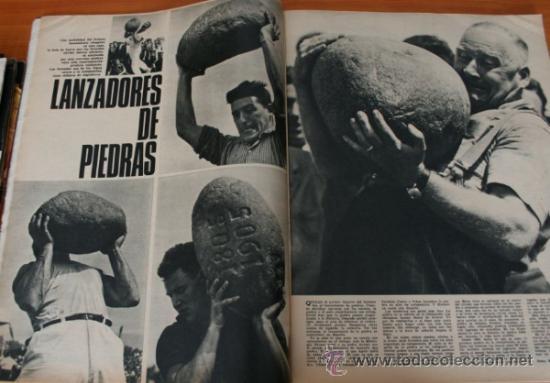 Coleccionismo de Revista Gaceta Ilustrada: GACETA ILUSTRADA 530 1966, LANZADORES DE PIEDRAS, REFERENDUM, LIN PIAO, PICASSO, MISTERIOS DE MENTE - Foto 2 - 37863150