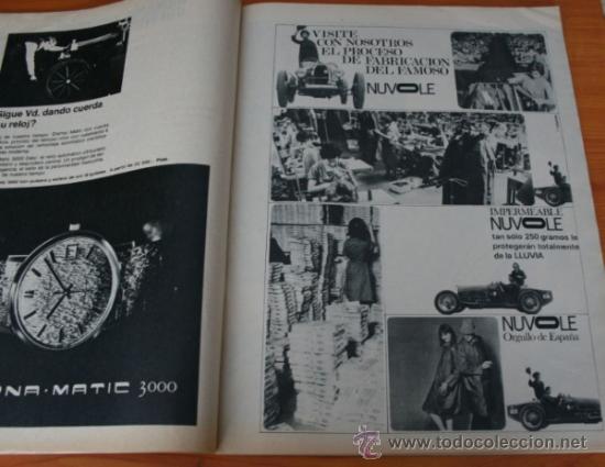 Coleccionismo de Revista Gaceta Ilustrada: GACETA ILUSTRADA 530 1966, LANZADORES DE PIEDRAS, REFERENDUM, LIN PIAO, PICASSO, MISTERIOS DE MENTE - Foto 10 - 37863150