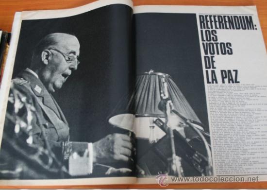 Coleccionismo de Revista Gaceta Ilustrada: GACETA ILUSTRADA 530 1966, LANZADORES DE PIEDRAS, REFERENDUM, LIN PIAO, PICASSO, MISTERIOS DE MENTE - Foto 3 - 37863150