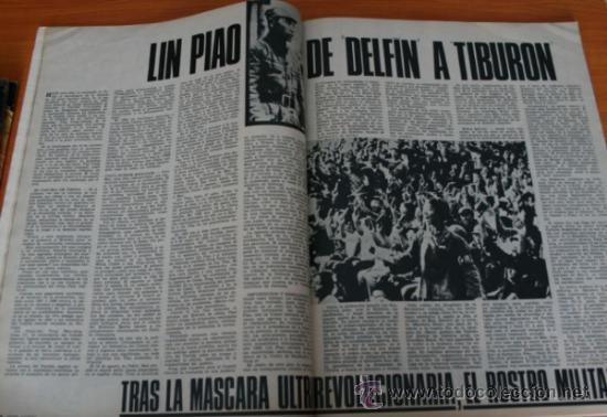 Coleccionismo de Revista Gaceta Ilustrada: GACETA ILUSTRADA 530 1966, LANZADORES DE PIEDRAS, REFERENDUM, LIN PIAO, PICASSO, MISTERIOS DE MENTE - Foto 9 - 37863150