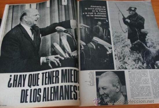 Coleccionismo de Revista Gaceta Ilustrada: GACETA ILUSTRADA 530 1966, LANZADORES DE PIEDRAS, REFERENDUM, LIN PIAO, PICASSO, MISTERIOS DE MENTE - Foto 8 - 37863150