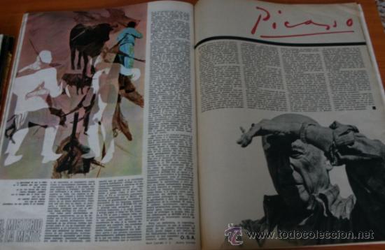 Coleccionismo de Revista Gaceta Ilustrada: GACETA ILUSTRADA 530 1966, LANZADORES DE PIEDRAS, REFERENDUM, LIN PIAO, PICASSO, MISTERIOS DE MENTE - Foto 7 - 37863150