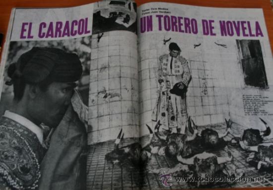 Coleccionismo de Revista Gaceta Ilustrada: GACETA ILUSTRADA 322 1962, TORERO EL CARACOL, GUANTES CORTADOS, WEST SIDE STORY EN MADRID - Foto 2 - 37863475