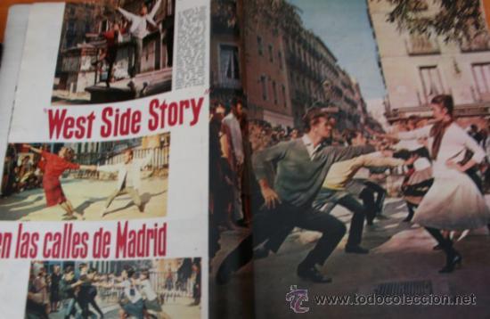 Coleccionismo de Revista Gaceta Ilustrada: GACETA ILUSTRADA 322 1962, TORERO EL CARACOL, GUANTES CORTADOS, WEST SIDE STORY EN MADRID - Foto 4 - 37863475