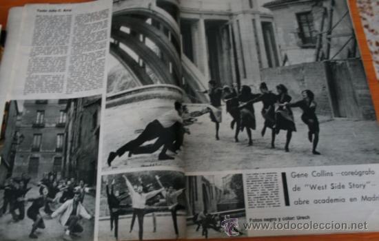 Coleccionismo de Revista Gaceta Ilustrada: GACETA ILUSTRADA 322 1962, TORERO EL CARACOL, GUANTES CORTADOS, WEST SIDE STORY EN MADRID - Foto 5 - 37863475