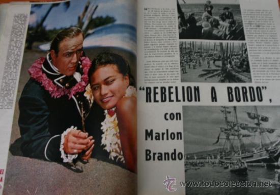Coleccionismo de Revista Gaceta Ilustrada: GACETA ILUSTRADA 322 1962, TORERO EL CARACOL, GUANTES CORTADOS, WEST SIDE STORY EN MADRID - Foto 6 - 37863475