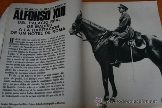 Coleccionismo de Revista Gaceta Ilustrada: GACETA ILUSTRADA 490 1966, ALFONSO XIII, MUERE PILOTO DEL DIABLO PAUL MANTZ, HABLA HIJO DE EICHMANN - Foto 2 - 37863852