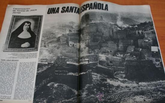 Coleccionismo de Revista Gaceta Ilustrada: REVISTA GACETA ILUSTRADA 901 1974 - CARLOS ARIAS, MADRID, BILBAO, SANTA TERESA DE JOURNET, NAVIPLANO - Foto 3 - 36863101