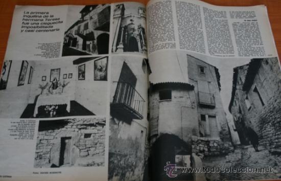 Coleccionismo de Revista Gaceta Ilustrada: REVISTA GACETA ILUSTRADA 901 1974 - CARLOS ARIAS, MADRID, BILBAO, SANTA TERESA DE JOURNET, NAVIPLANO - Foto 4 - 36863101