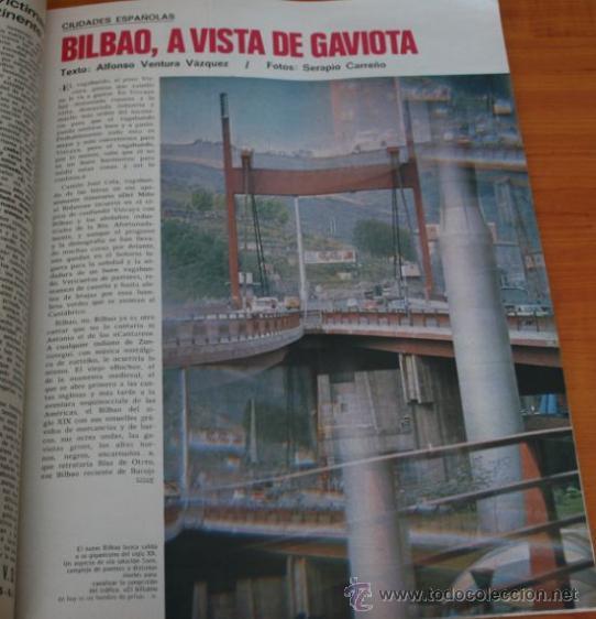 Coleccionismo de Revista Gaceta Ilustrada: REVISTA GACETA ILUSTRADA 901 1974 - CARLOS ARIAS, MADRID, BILBAO, SANTA TERESA DE JOURNET, NAVIPLANO - Foto 6 - 36863101