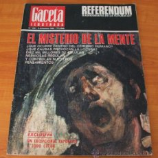 Coleccionismo de Revista Gaceta Ilustrada: GACETA ILUSTRADA 530 1966, LANZADORES DE PIEDRAS, REFERENDUM, LIN PIAO, PICASSO, MISTERIOS DE MENTE. Lote 37863150