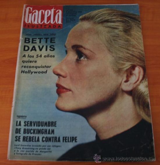 GACETA ILUSTRADA 322 1962, TORERO EL CARACOL, GUANTES CORTADOS, WEST SIDE STORY EN MADRID (Coleccionismo - Revistas y Periódicos Modernos (a partir de 1.940) - Revista Gaceta Ilustrada)
