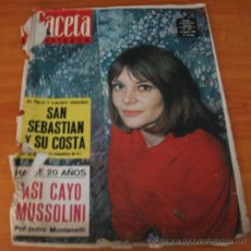 Coleccionismo de Revista Gaceta Ilustrada: GACETA ILUSTRADA 357 1963, VERANO EN LA COSTA DONOSTIARRA, GITANOS LA CAMARGA, JEAN COCTEAU. Lote 37863682