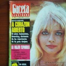 Coleccionismo de Revista Gaceta Ilustrada: GACETA ILUSTRADA Nº 600 / 7 DE ABRIL DE 1968 / PORTADA - EWA AULIN. Lote 38052854