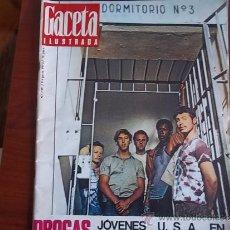 Coleccionismo de Revista Gaceta Ilustrada: GACETA ILUSTRADA Nº 722 / 9 DE AGOSTO DE 1970 / PORTADA - DROGAS EN LAS CARCELES ESPAÑOLAS. Lote 38071402