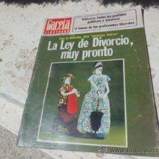 Coleccionismo de Revista Gaceta Ilustrada: REVISTA GACETA ILUSTRADA Nº 1051 28 NOVIEMBRE 1976 REV-61. Lote 38427964