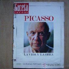 Coleccionismo de Revista Gaceta Ilustrada: GACETA ILUSTRADA,IMPORTANTE SALON DEL AUTOMOVIL,BARCELONA-GRAN REPORTAJE DE PICASSO,VIDA Y LA OBRA. Lote 39191707