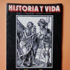 Coleccionismo de Revista Gaceta Ilustrada: HISTORIA Y VIDA. LA MUERTE NEGRA. AÑO XV. Nº 174 - DIVERSOS AUTORES. Lote 36670558