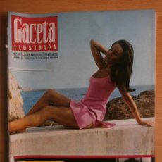 Coleccionismo de Revista Gaceta Ilustrada: GACETA ILUSTRADA Nº567.1967.LUDMILLA TCHERINA.JERUSALEN,AVA GARDNER,REVOLUCION BOLCHEVIQUE-LIBRO.. Lote 41837162