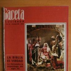 Coleccionismo de Revista Gaceta Ilustrada: GACETA ILUSTRADA Nº428.1964.NAVIDAD EXTRAORDINARIO.ROMANOFF,RITA PAVONE,JANINE CHARRAT,FERES JACQUES. Lote 41837614
