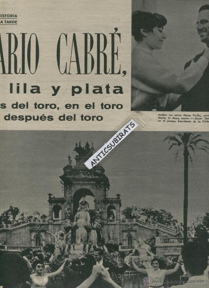 Coleccionismo de Revista Gaceta Ilustrada: REVISTA 1958 BAILE FLAMENCO CARMEN AMAYA PASTERNAK CURD JURGENS MARIO CABRE BEGUR - Foto 3 - 18338355
