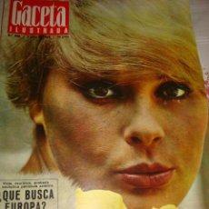 Coleccionismo de Revista Gaceta Ilustrada: GACETA ILUSTRADA.. Lote 45501099