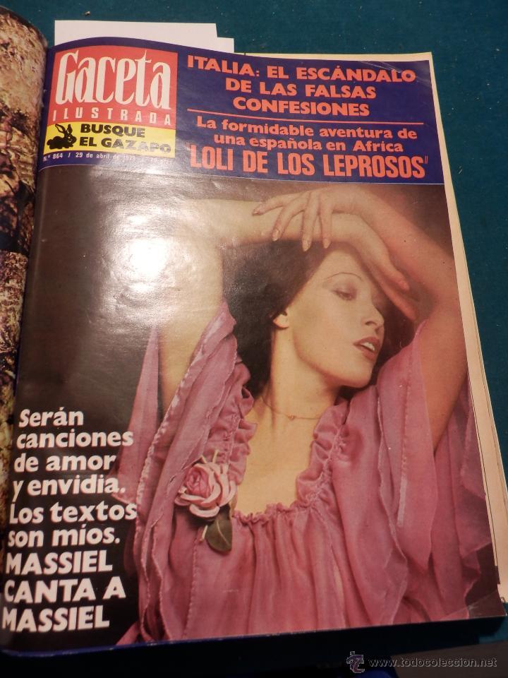 Coleccionismo de Revista Gaceta Ilustrada: GACETA ILUSTRADA -TOMO AÑO 1973 CON 8 REVISTAS-MARLON BRANDO-PICASSO-MASSIEL-MARI TRINI-LIZA MINELLI - Foto 4 - 46552209