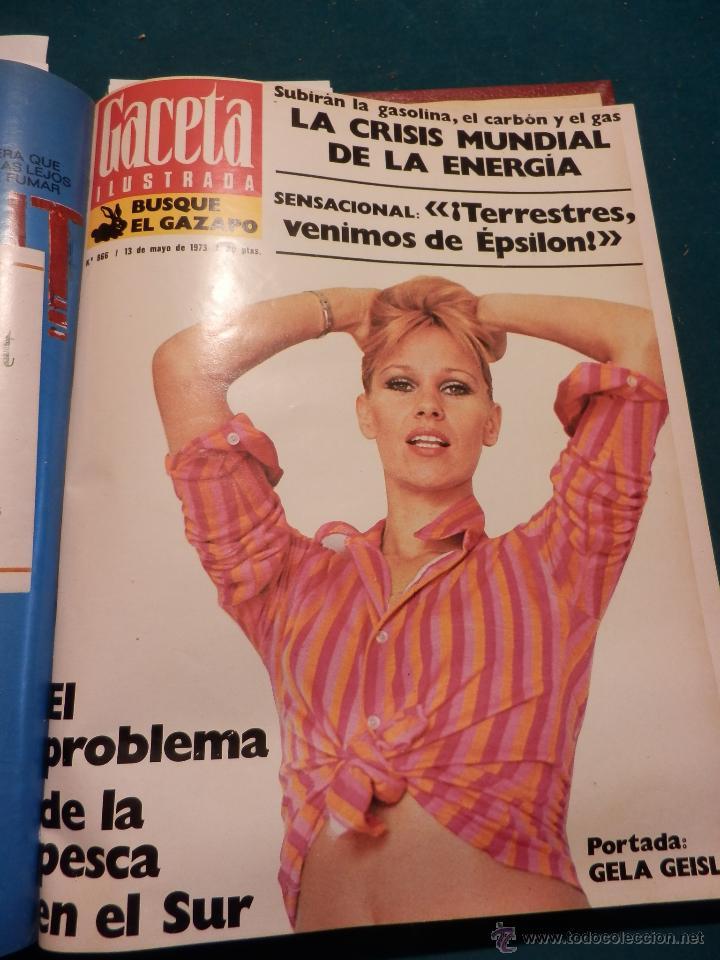 Coleccionismo de Revista Gaceta Ilustrada: GACETA ILUSTRADA -TOMO AÑO 1973 CON 8 REVISTAS-MARLON BRANDO-PICASSO-MASSIEL-MARI TRINI-LIZA MINELLI - Foto 7 - 46552209