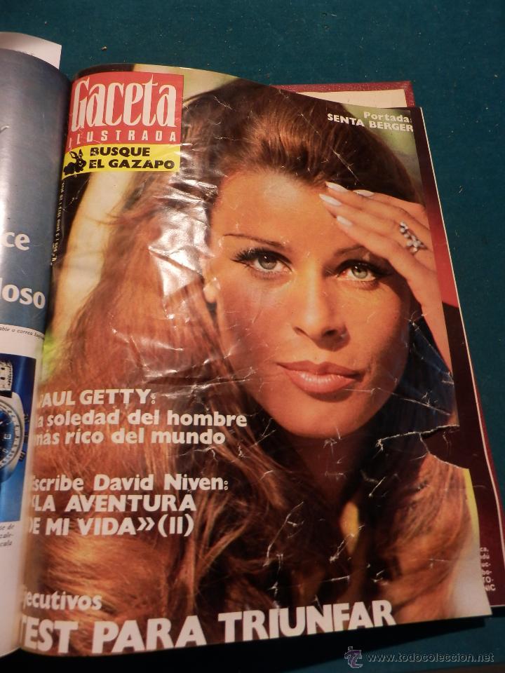 Coleccionismo de Revista Gaceta Ilustrada: GACETA ILUSTRADA -TOMO AÑO 1973 CON 8 REVISTAS-MARLON BRANDO-PICASSO-MASSIEL-MARI TRINI-LIZA MINELLI - Foto 9 - 46552209