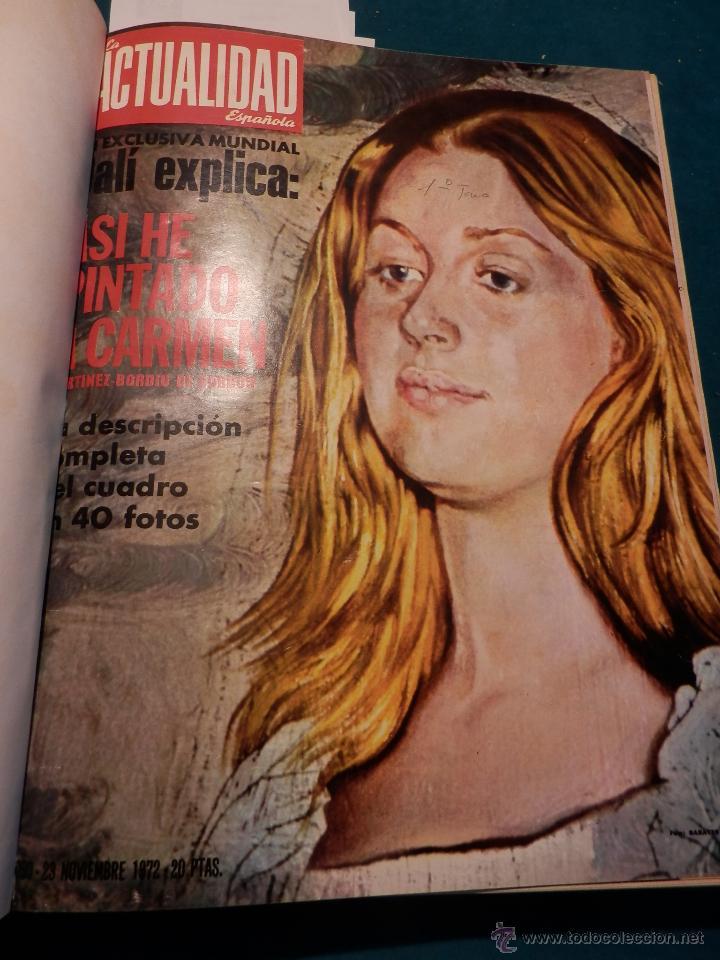 Coleccionismo de Revista Gaceta Ilustrada: 8 GACETA ILUSTRADA + 1 LA ACTUALIDAD ESPAÑOLA -TOMO AÑO 1972- -EL LUTE-ELVIS PRESLEY-ANGEL NIETO - Foto 2 - 46552704