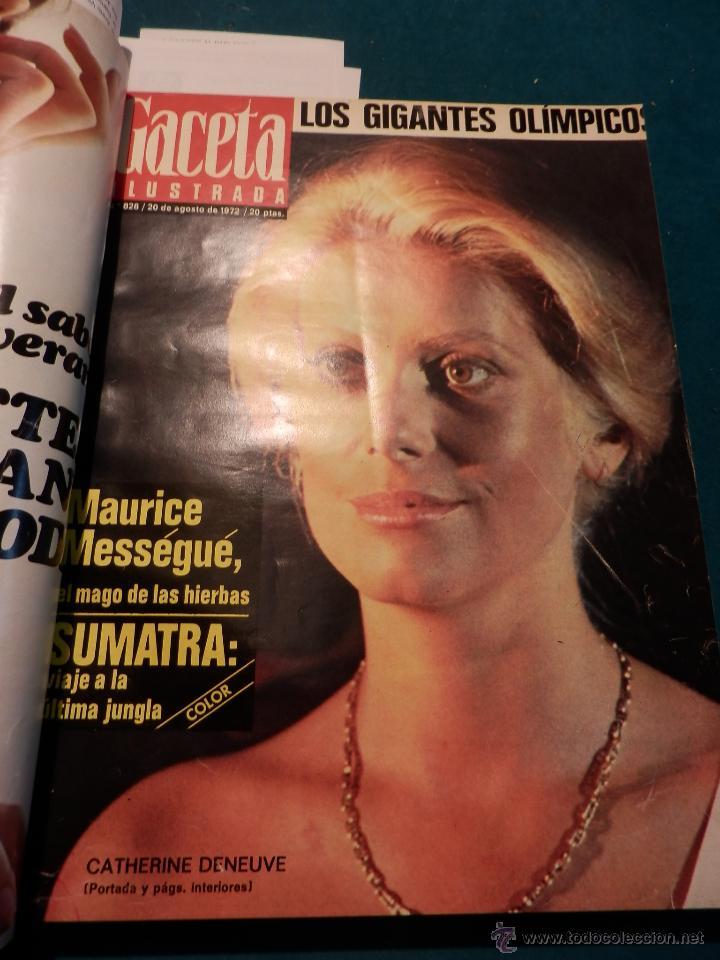 Coleccionismo de Revista Gaceta Ilustrada: 8 GACETA ILUSTRADA + 1 LA ACTUALIDAD ESPAÑOLA -TOMO AÑO 1972- -EL LUTE-ELVIS PRESLEY-ANGEL NIETO - Foto 5 - 46552704