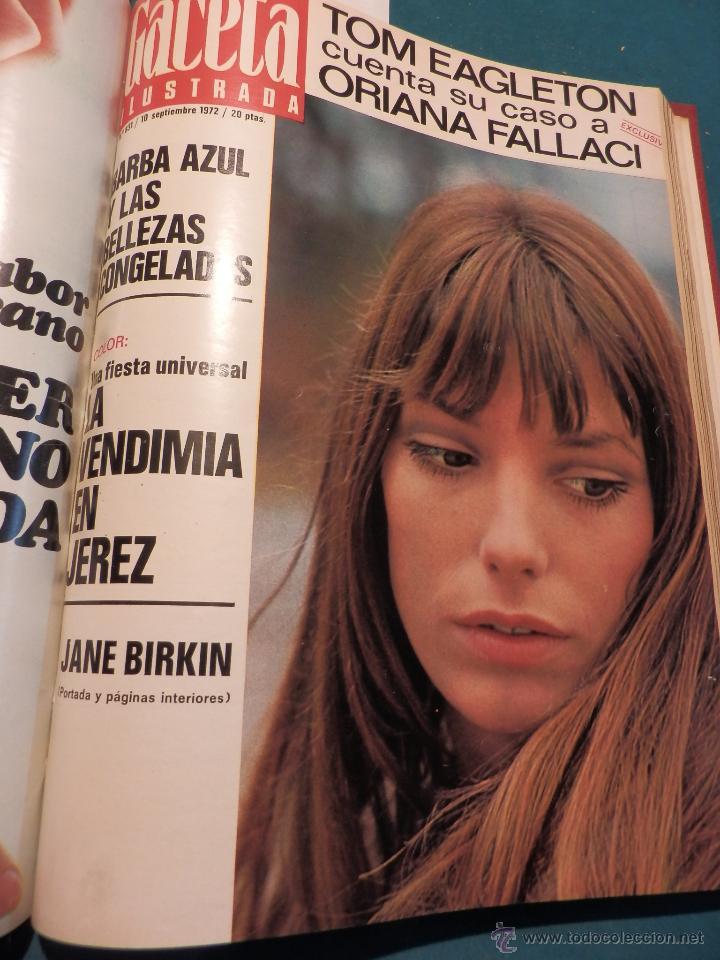 Coleccionismo de Revista Gaceta Ilustrada: 8 GACETA ILUSTRADA + 1 LA ACTUALIDAD ESPAÑOLA -TOMO AÑO 1972- -EL LUTE-ELVIS PRESLEY-ANGEL NIETO - Foto 7 - 46552704