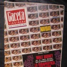 Coleccionismo de Revista Gaceta Ilustrada: WALT DISNEY - ROSTROS PARALELOS - ELVIS PRESLEY- AVA GARDNER - MARLON BRANDO. Lote 47254499