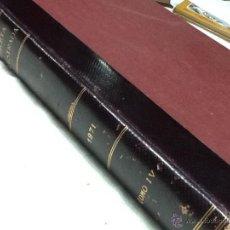 Coleccionismo de Revista Gaceta Ilustrada: GACETA ILUSTRADA, OCTUBRE A DICIEMBRE 1971, ENCUADERNADO. Lote 48389321