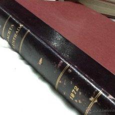Coleccionismo de Revista Gaceta Ilustrada: GACETA ILUSTRADA DE JULIO A SEPTIEMBRE 1972. Lote 48389392