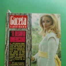Coleccionismo de Revista Gaceta Ilustrada: Nº 587 7/1/1968 DANIELA BIANCHI - AMESTOY - AVA GADNER - CHE GUEVARA. Lote 48963670