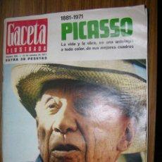 Coleccionismo de Revista Gaceta Ilustrada: 48GACETA ILUSTRADA AÑO1971 Nº786 PICASSO,48 PAGINAS,118 FOTOS. Lote 49284189