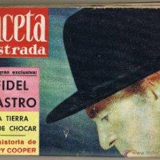 Coleccionismo de Revista Gaceta Ilustrada: GACETA ILUSTRADA Nº 134 MAYO 1959 . Lote 49601944