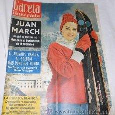 Coleccionismo de Revista Gaceta Ilustrada: GACETA ILUSTRADA Nº 284, DE 1962. Lote 49711661