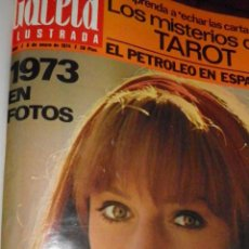 Coleccionismo de Revista Gaceta Ilustrada: GACETA ILUSTRADA,TRIMESTRE 1º 1973 ENCUADERNADO-TRIMESTRE 1º 1974, TOTAL 23 REVISTAS. Lote 49966020