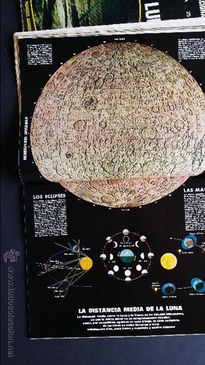 Coleccionismo de Revista Gaceta Ilustrada: Tres números extra de la Gaceta Ilustrada de 1969. 3 fascículos El libro de la luna . - Foto 12 - 50440603