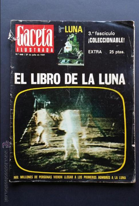 Coleccionismo de Revista Gaceta Ilustrada: Tres números extra de la Gaceta Ilustrada de 1969. 3 fascículos El libro de la luna . - Foto 13 - 50440603
