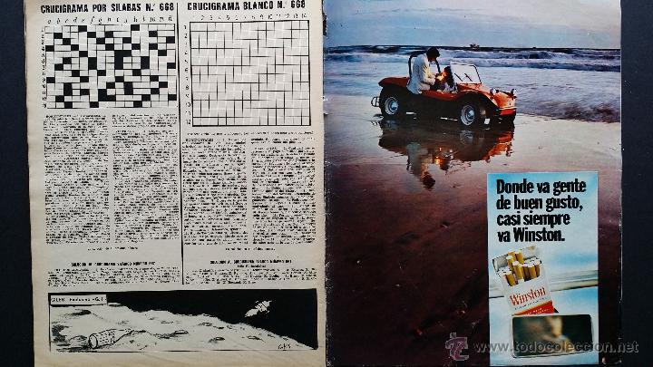 Coleccionismo de Revista Gaceta Ilustrada: Tres números extra de la Gaceta Ilustrada de 1969. 3 fascículos El libro de la luna . - Foto 18 - 50440603
